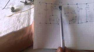 Блок живлення з регулюванням струму і напруги