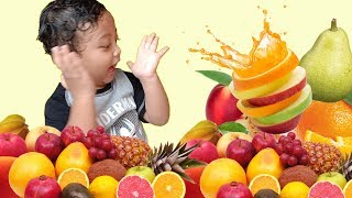 Rei Belajar Mengenal Nama Buah - Learn Fruit Names Educational Video