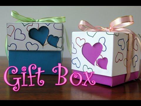 DIY crafts : Hearts Gift Box - Ana | DIY Crafts