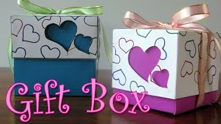 DIY crafts : Hearts Gift Box - Ana | DIY Crafts