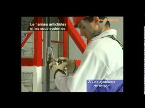 Cbhs btp prevention des risques de chute de hauteur ww - Formation travail en hauteur port du harnais ...