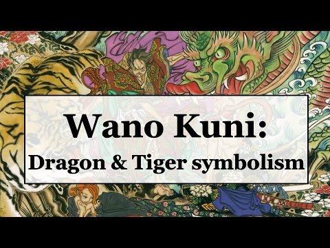 One Piece Theory 817 Wano Kuni Dragon Tiger Symbolism Youtube