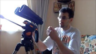 видео Астрономический бинокль для наблюдений