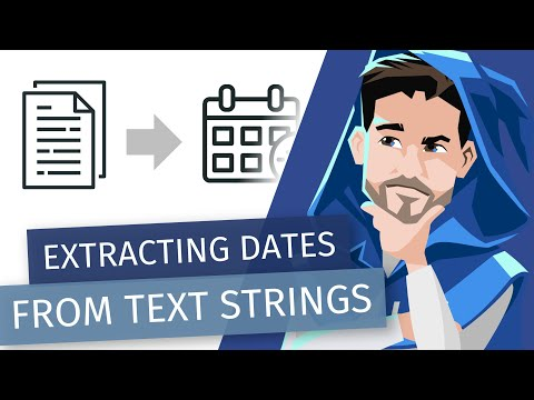 Using Power Query To Extract Dates From Text String