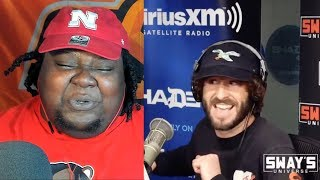 HE MADE THIS LOOK EASY!!! Lil Dicky Freestyle on Sway In The Morning REACTION!!!