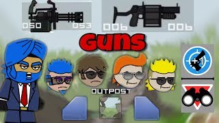 Mini Militia: New Update: New Guns In Modded Lobby [Must Watch]