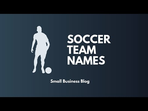 Catchy Soccer Team Names