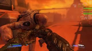 Doom on Ryzen 3 1200 + GTX 1050 Ti