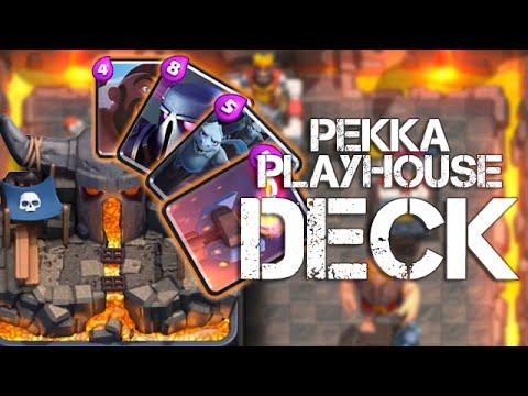 Clash Royale Best Arena 4 Deck Pekka Playhouse Hog