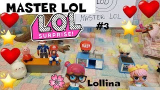LOL SURPRISE #79 MASTER LOL chef CHALLENGE 3° puntata + UNBOXING Sylvanian By Lara e Babou