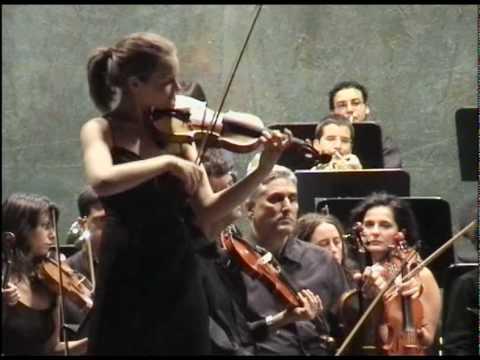 Laura Marzadori - Sibelius Violin Concerto - YouTube