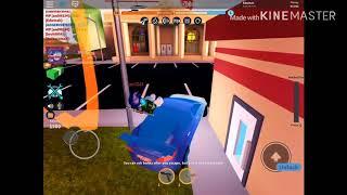 Playing jailbrake roblox and robbing stuff