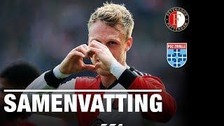 Samenvatting | Feyenoord - PEC Zwolle 2018-2019