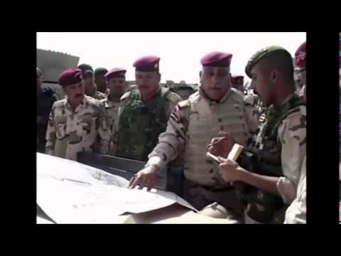 Iraq reclaims Alam and seals off Tikrit in march to Fallujah - March 2015 Raw Video