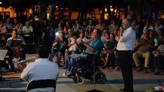 La Banda de Música de Ciudad Rodrigo interpreta Forastero (8/8/2019)