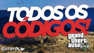 GTA V PC: TODOS OS CÓDIGOS DO JOGO!