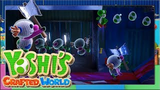 KILLER CLOWNS wollen uns TÖTEN!! #14 ✂️ Yoshi's Crafted World | Let's Play Nintendo Switch