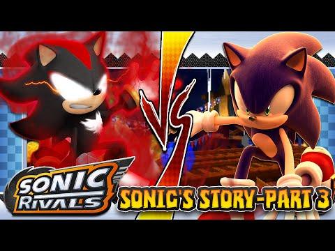 Sonic Rivals Psp Sonic S Story Part 3 Sky Park Zone Youtube