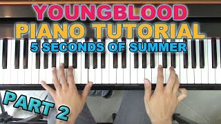 """Youngblood"" - Piano Tutorial + Sheets - 5SOS 