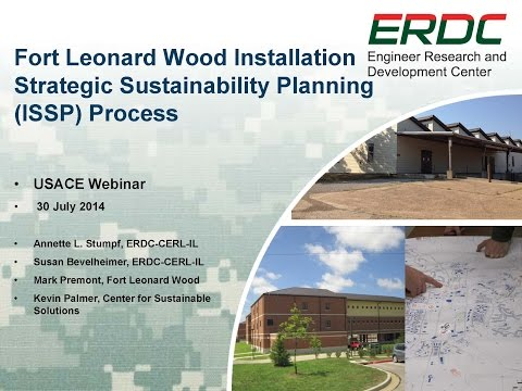 Leonard Wood Installation Strategic Sustainability Planning