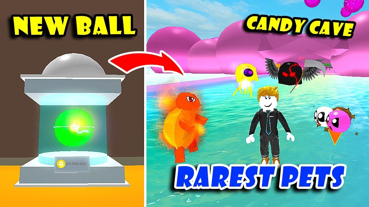 *NEW* CANDY LAND UPDATE! & EVOLVE ALL NEW RAREST PETS In PET TRAINER SIMULATOR!! [Roblox]