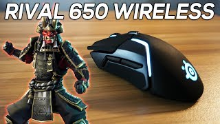 The Best Wireless Fortnite Mouse! - SteelSeries Rival 650 Wireless Review 4K