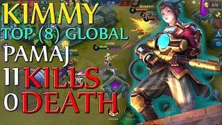 2019 KIMMY Best Build| Perfect Gameplay ft. PAMAJ|Meta Marksman-Mobile Legends