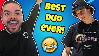 CIZZORZ & COURAGEJD!! He RAPS For Our WIN...