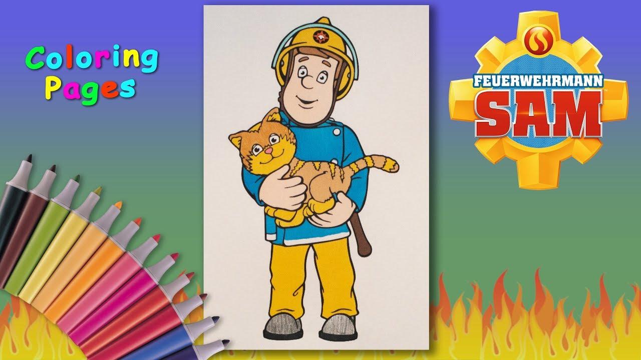 Fireman Sam Printable Coloring Pages 35   720x1280