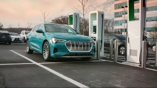 homepage tile video photo for Audi e-tron SUV: Range Tranquility