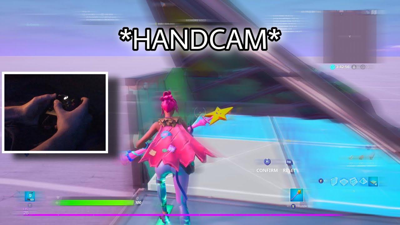 Fastest Console Editor does a Handcam (Do I Macro?)
