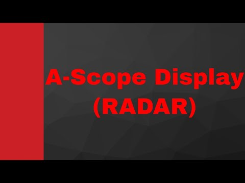 A Scope Display (RADAR Display) by Engineering Funda (RADAR Engineering, Microwave Engineering)