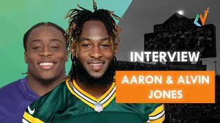 The Football Brothers Game | NACL Interview w/ Aaron and Alvin Jones