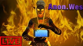 🔴 New HUD?! 60FPS iPhone 8Plus// 700+wins// Fortnite Mobile!// Use Code Anon-Wes 🔴