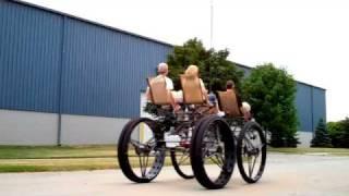 Four person, four wheel