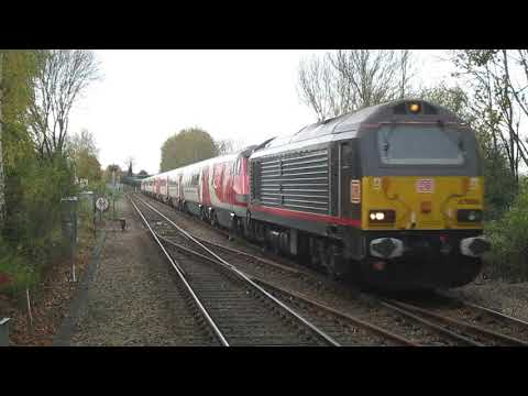 500 Subscriber Special - ECML Diverts on the Joint Line - Metheringham + Lincoln - 28/10/2017