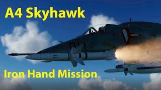 DCS World A4 Skyhawk Iron Hand SEAD Mission