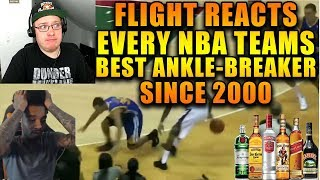 Reacting To FlightReacts Every NBA Team's Best Ankle-Breaker Since 2000!