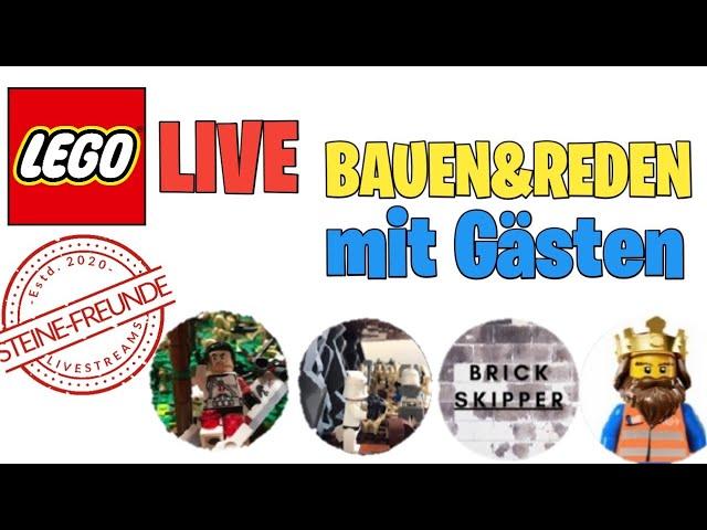 Bauen und Reden mit Gästen/ Livestream #6