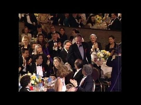 Gene Hackman Wins Best Supporting Actor Motion Picture - Golden Globes 1993