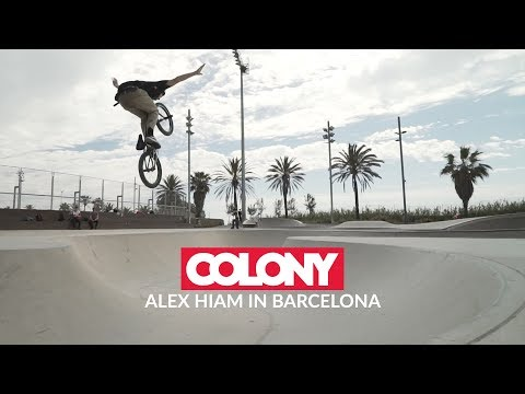 After Malaga Vans bowl contest Alex Hiam spent some time in Barcelona chilling with his girlfriend but also spent four days cruising with John Young hitting ...