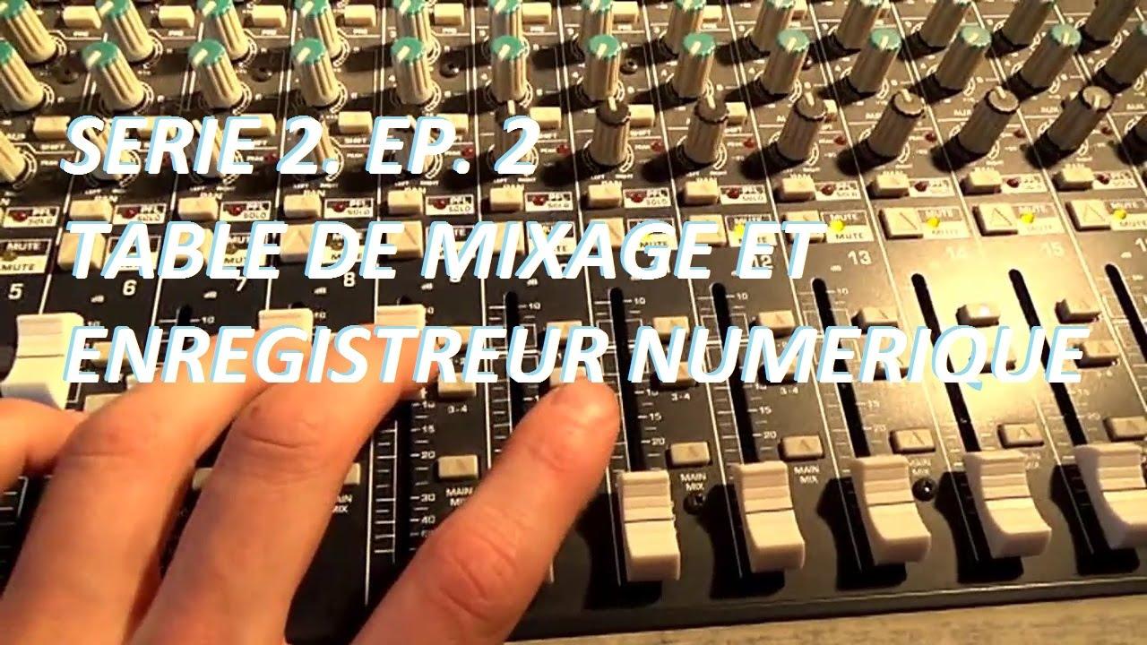 Comment enregistrer une batterie acoustique ep 2 table de mixage et enregistreur num rique Comment choisir une table de mixage