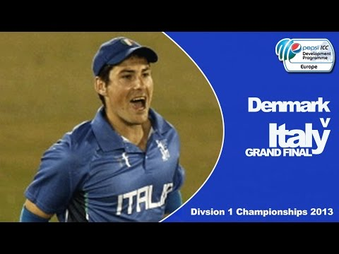 PEPSI ICC European Division 1 Championship Final - Italy Innings