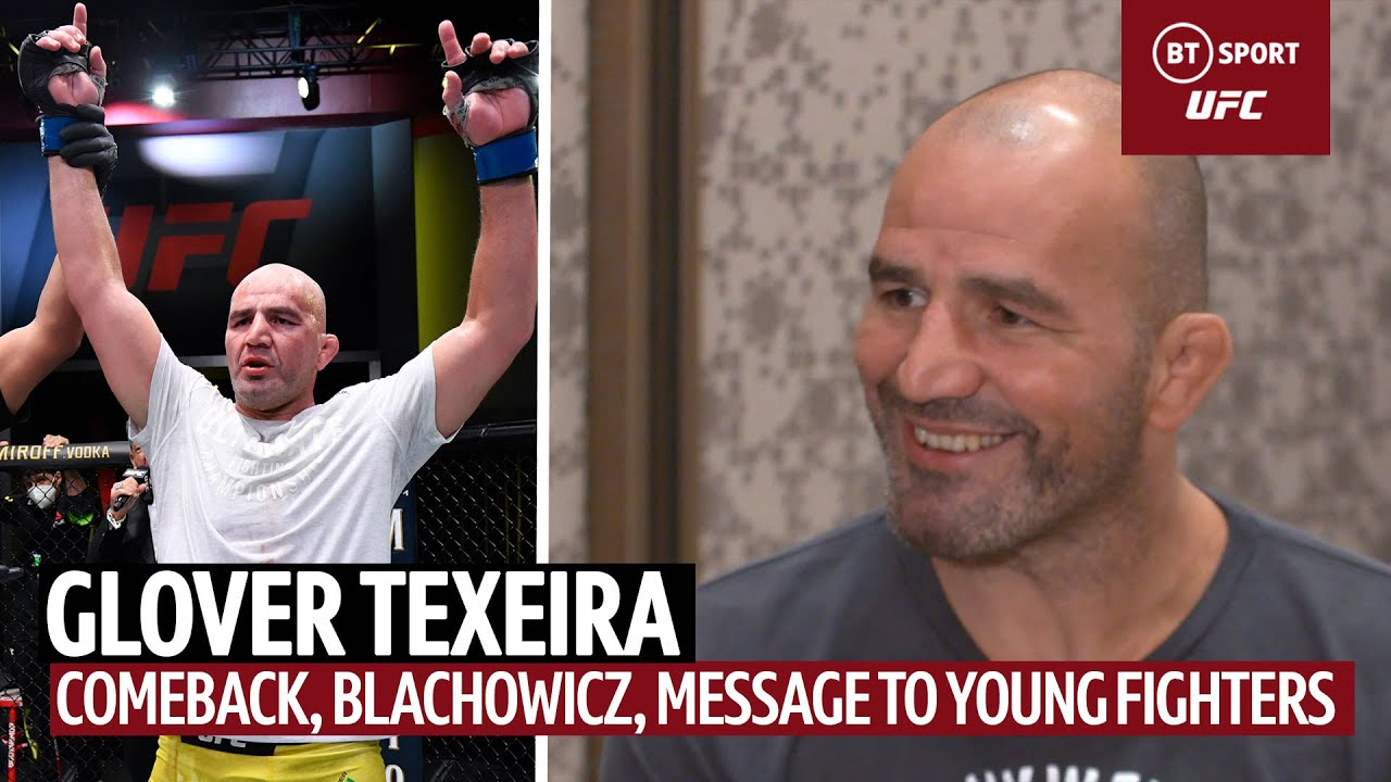 """""""Let's Show Those Young Guys How To Fight, Respect Each Other"""" Glover Teixeira's Route To The Top"""