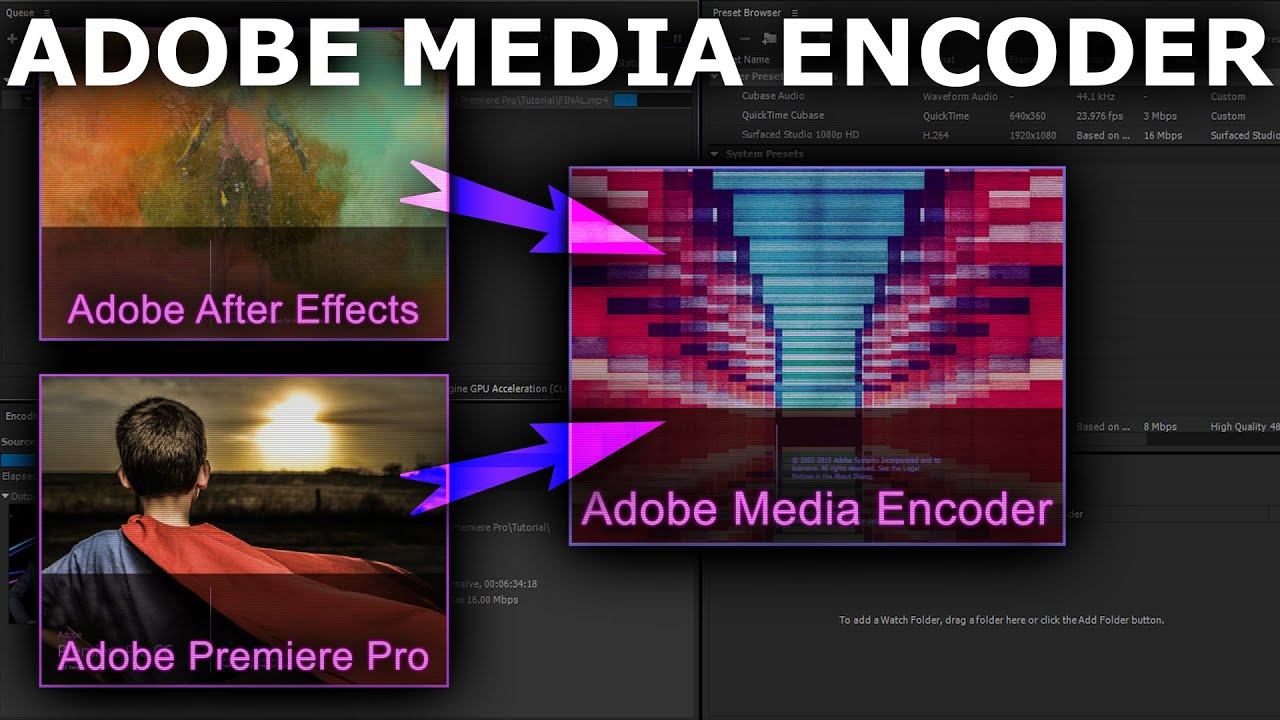 how to download adobe media encoder