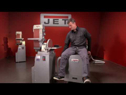 JET Belt & Disc Metal Finishing Machine With Open and Close