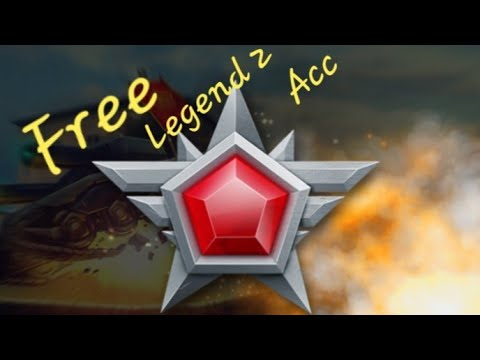 #2 Tanki Online Free Legend 2 Acount 100%