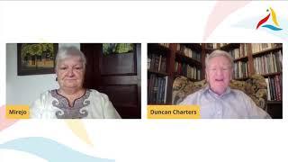 VK 2020: Tago de Lernado: malfermaj paroladoj de D. Charters (UEA) kaj M. Grosjean (ILEI)