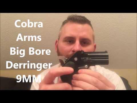 Cobra Big Bore Derringer 9mm Review