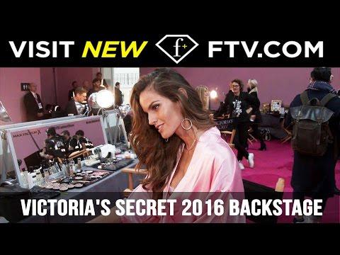 Victorias Secret Fashion Show 2016 Backstage Part 3  FTV.com